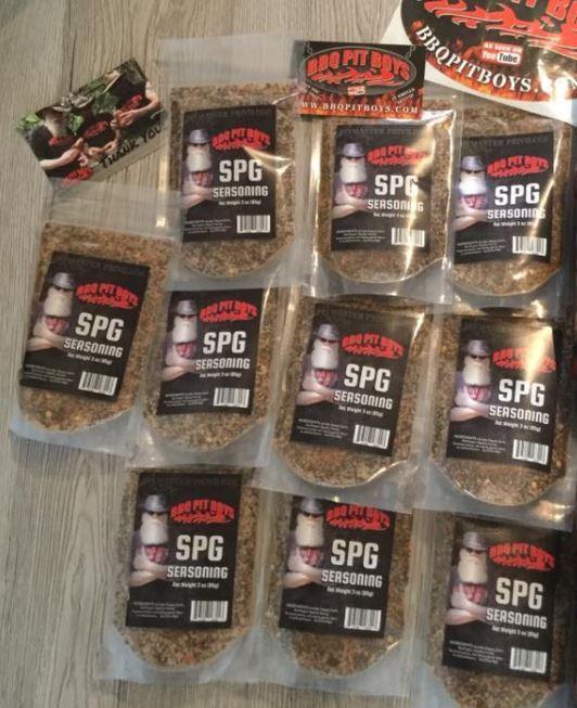 BBQ Pit Boys SPG Seasoning - 10 Pack