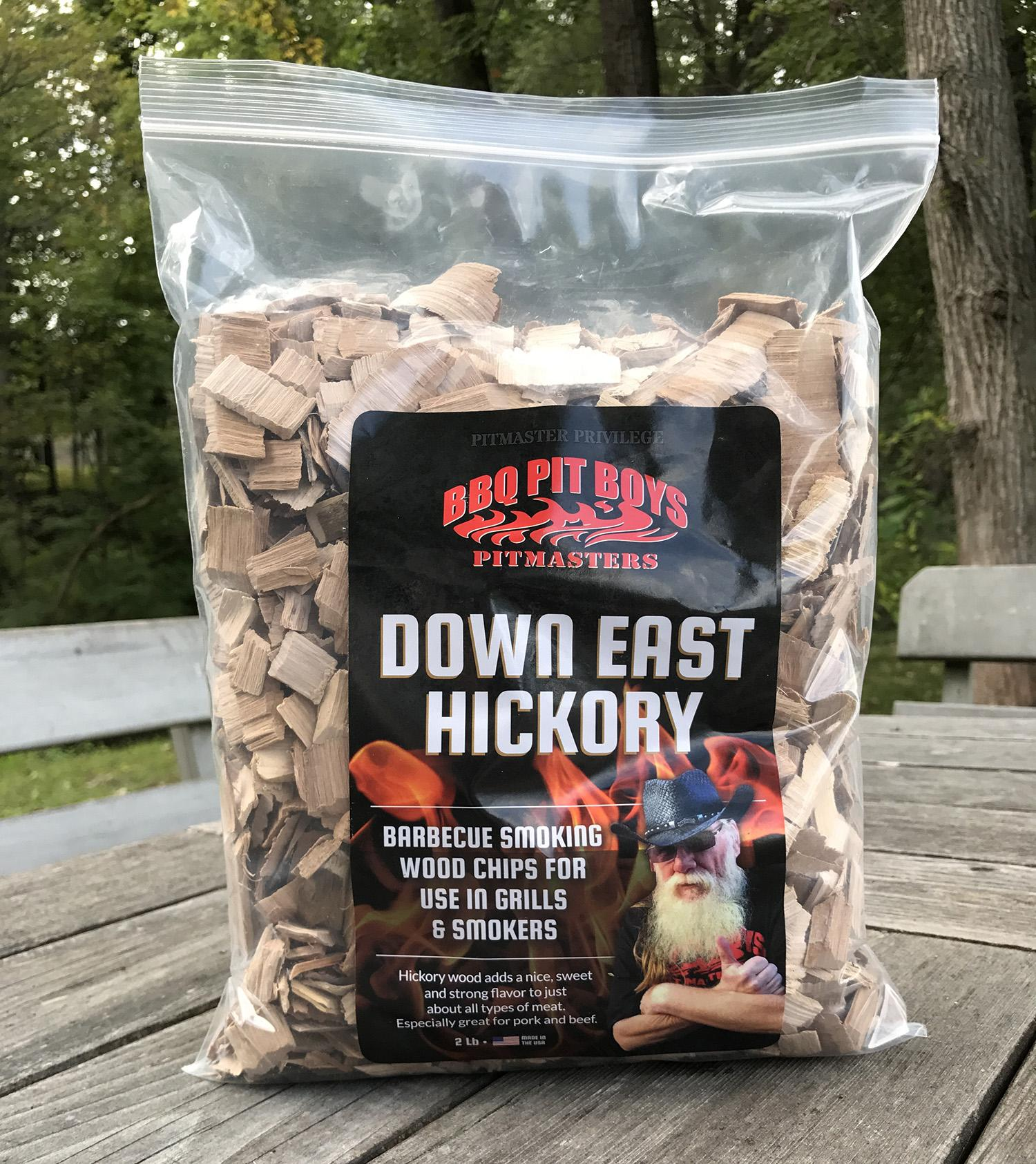 Hickory Wood Smoking Chips