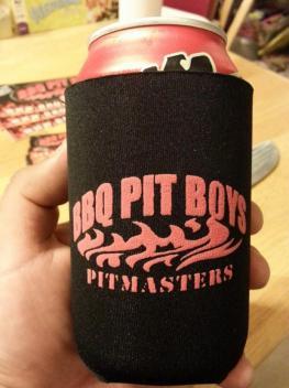 BBQ Pit Boys Beer Koozie