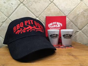 Two Shot Glasses, A Hat, & A Beer Koozie