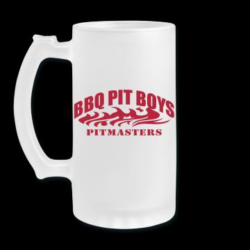 BBQ Pit Boys Frosted Mug