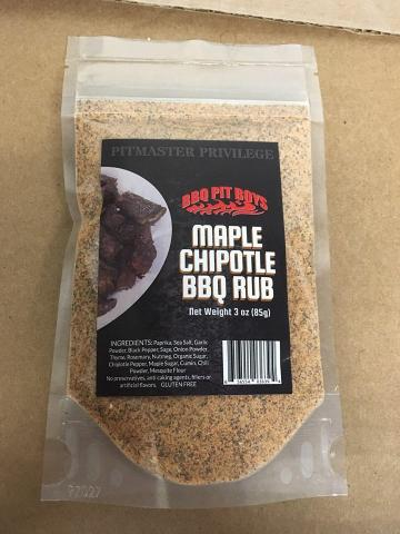 BBQ Pit Boys Maple Chipotle Dry Rub