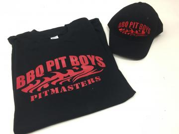 BBQ Pit Boys Hat with T-Shirt