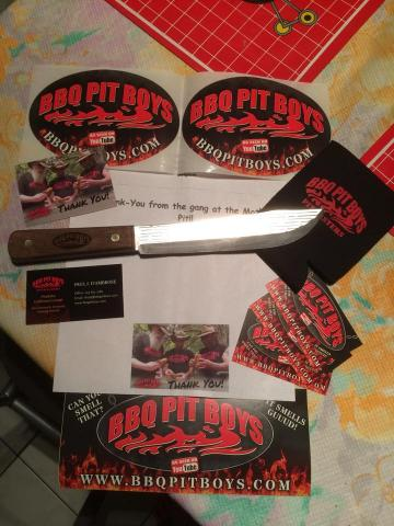 BBQ Pit Boys Engraved 7 Inch Knife