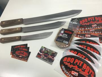 BBQ Pit Boys Old Hickory Three-Knife Gift Set