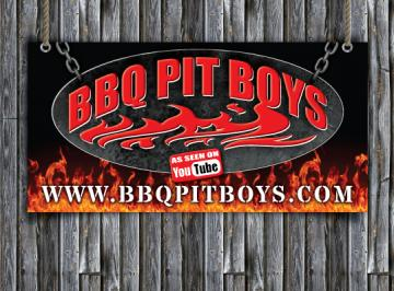 Custom BBQ Pit Boys Chapter Banner