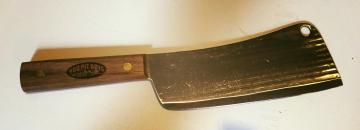 Official BBQ Pit Boys Old Hickory Cleaver
