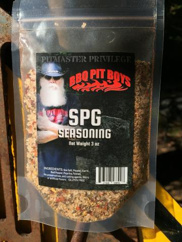 BBQ Pit Boys SPG Seasoning