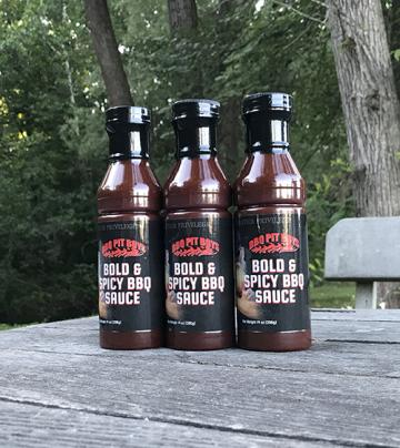 BBQ Pit Boys Bold & Spicy BBQ Sauce