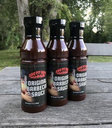 BBQ Pit Boys Original Barbecue Sauce - 3 Pack