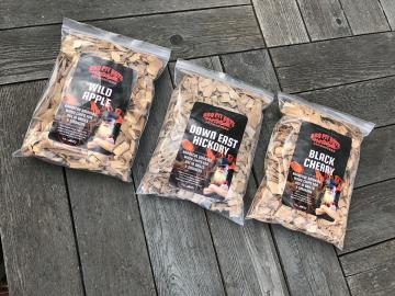 Wood Smoking Chips Combo Pack