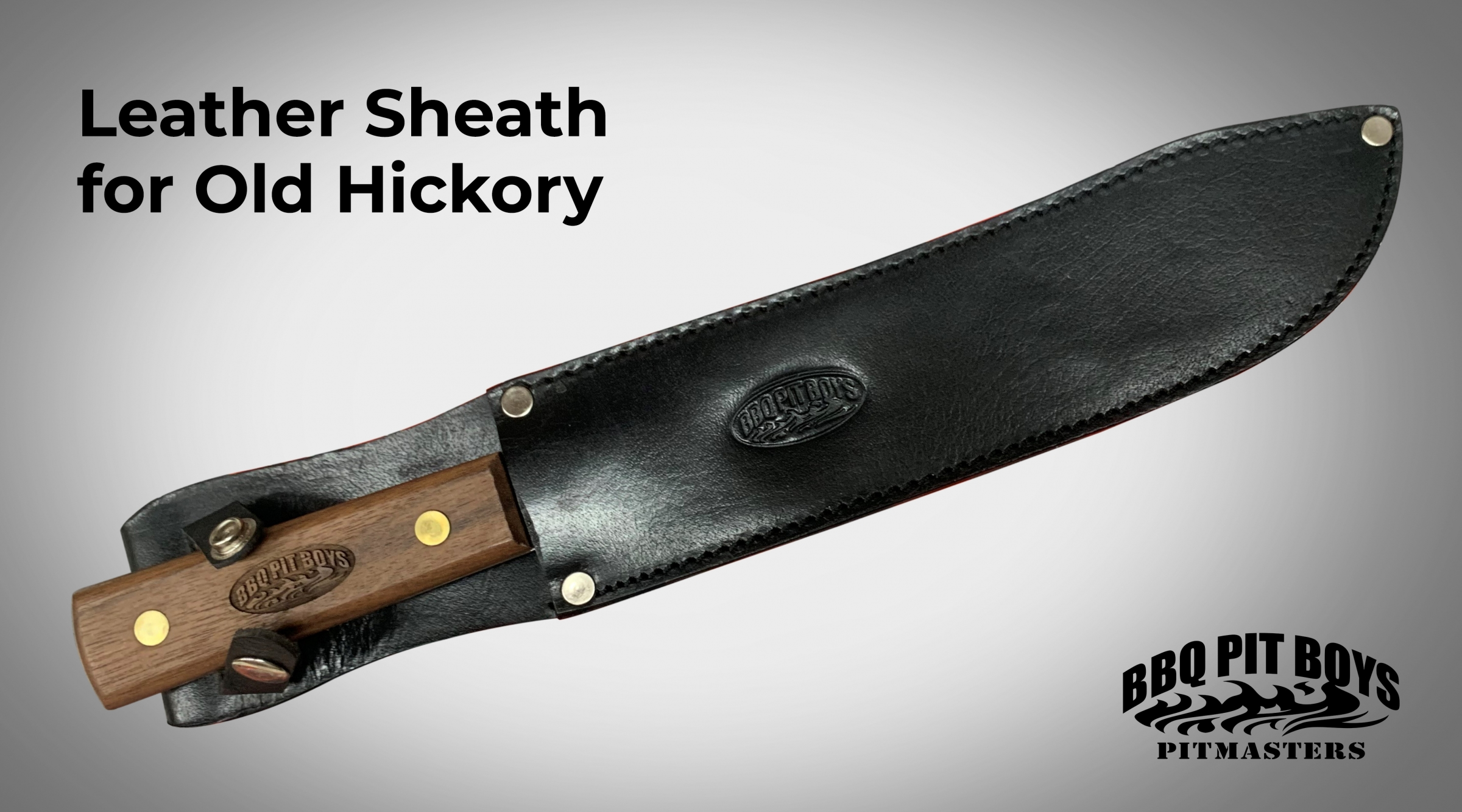10 Inch Old hickory Sheath